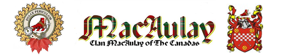 Clan MacAulay of the Canadas
